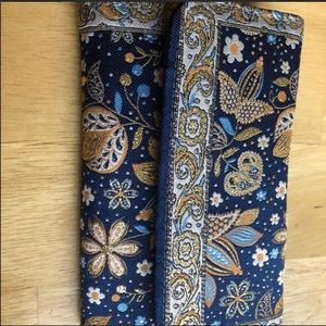 🌼Wallet Sale🌼 Blue Embroidery Purse from Turkey